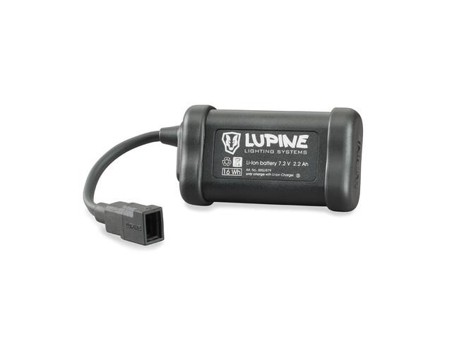 Lupine 2.2 Ah Hardcase zwart